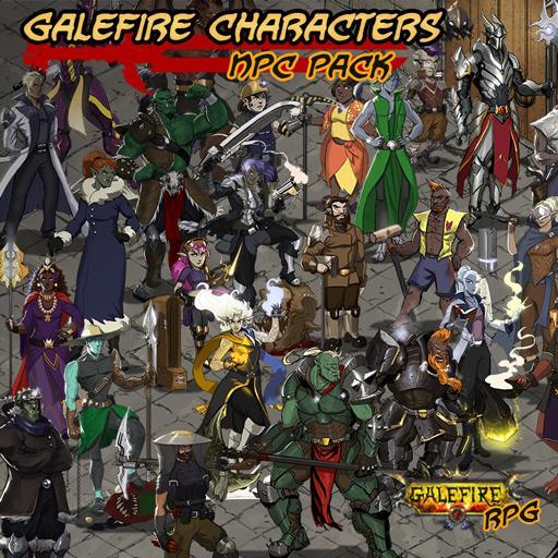 Galefire Characters, NPC Pack