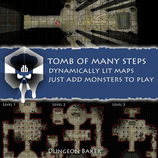 Tomb of Many Steps