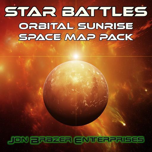 Star Battles: Orbital Sunrise Space Map Pack