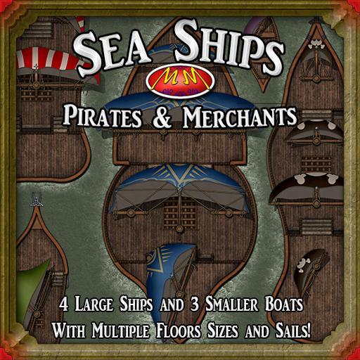 Sea Ships V3 | Pirates & Merchants