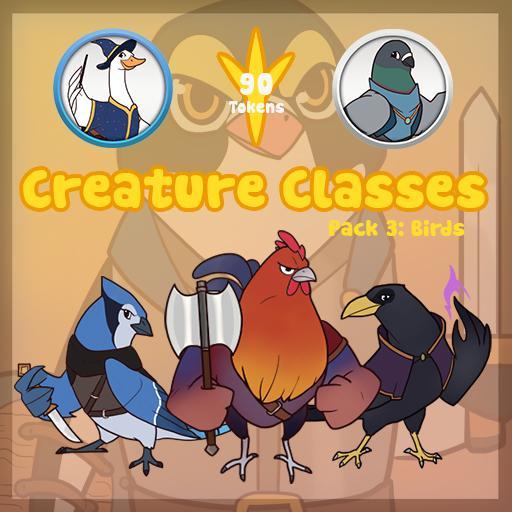 Creature Classes Pack 3: Birds