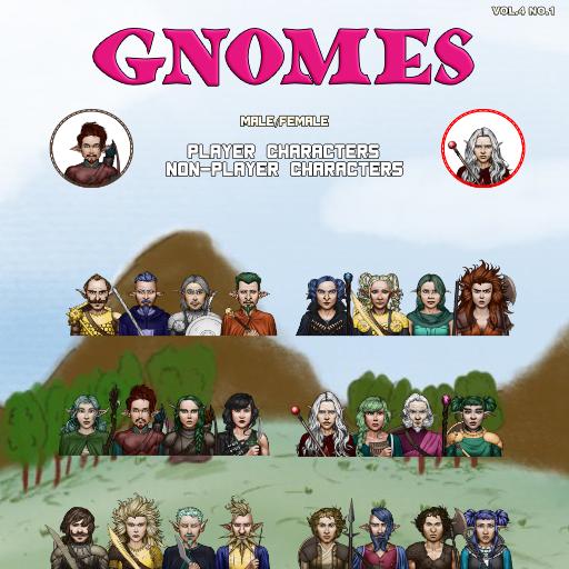 MBTB Tokens Vol.4 No.1 - Gnomes PC's & NPC's