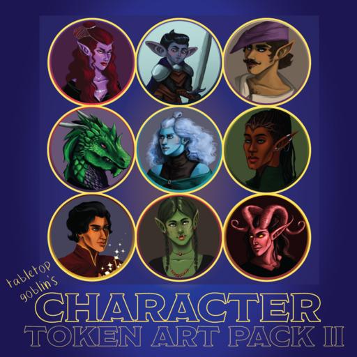 Character Token Art Pack II
