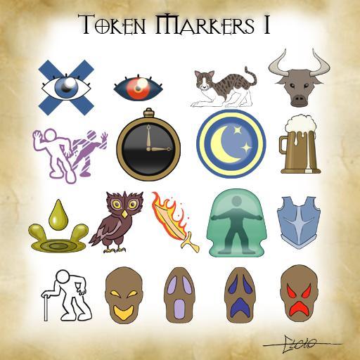 Token Markers Set 1