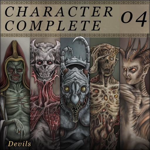 Character Complete Vol 04