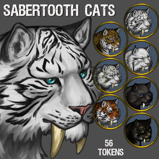 Sabertooth Cats Pack