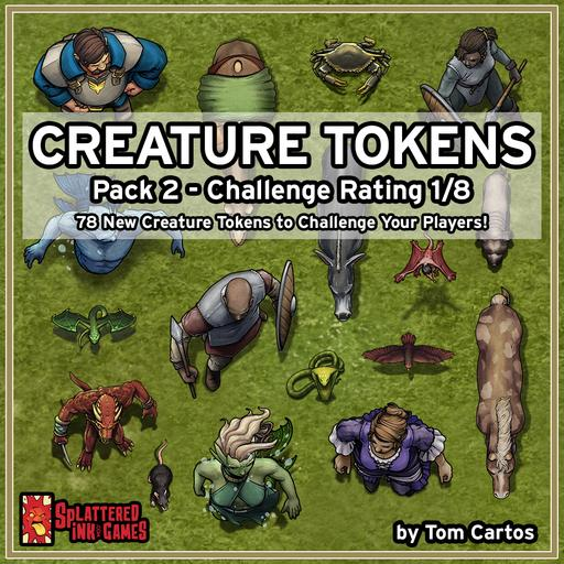 Creature Tokens Pack 2 - CR 1/8