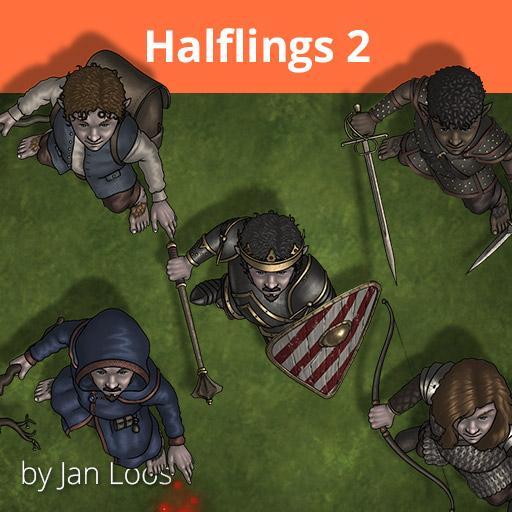 Jans Token Pack 28 - Halflings 2