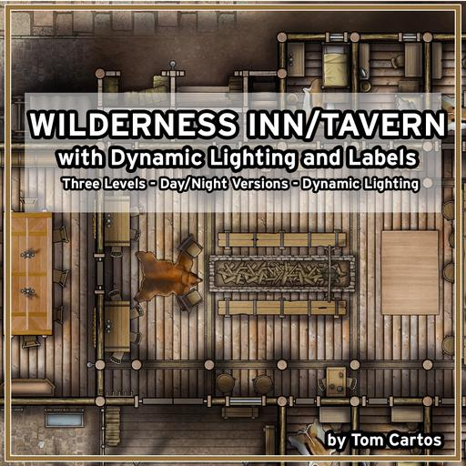 The Mannered Bear Wilderness Inn and Bar with Dynamic Lighting