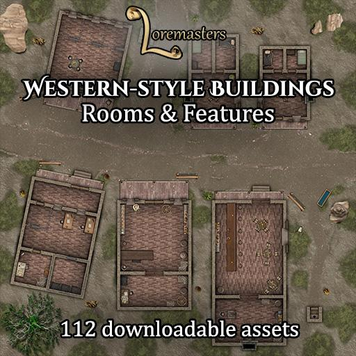 Western-style Buildings: Rooms and Features