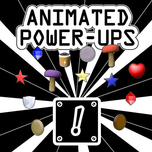 Animated Power-ups