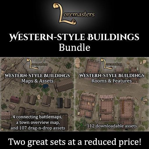 Western-style Buildings Bundle