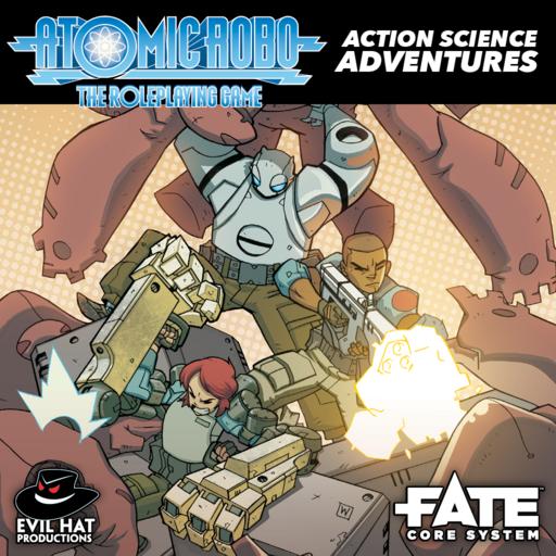 Atomic Robo Action Science Adventures