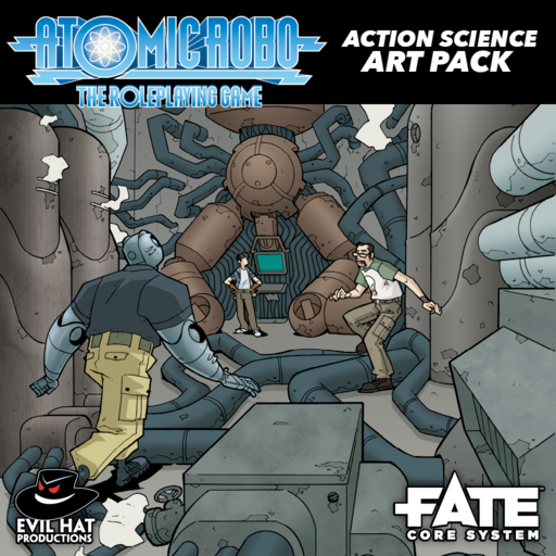 Atomic Robo Action Science Art Pack