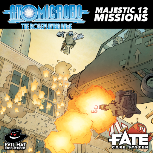 Atomic Robo Majestic 12 Missions
