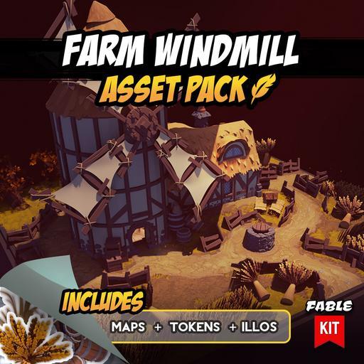 Farm Windmill - Asset Pack