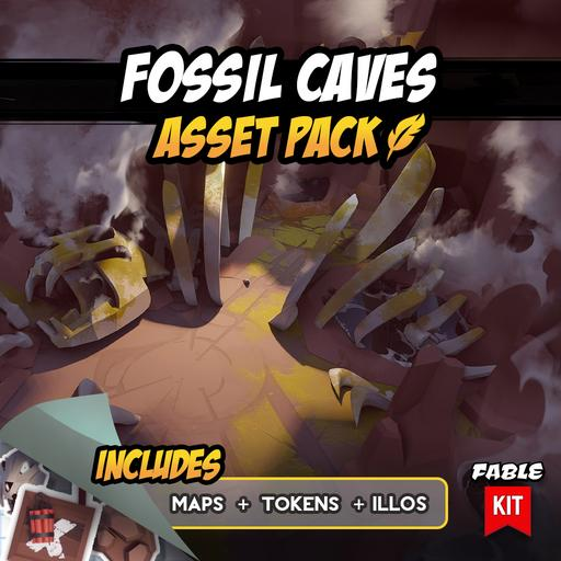 Fossil Caves - Asset Pack