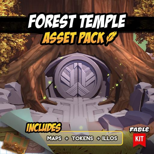 Forest Temple - Asset Pack