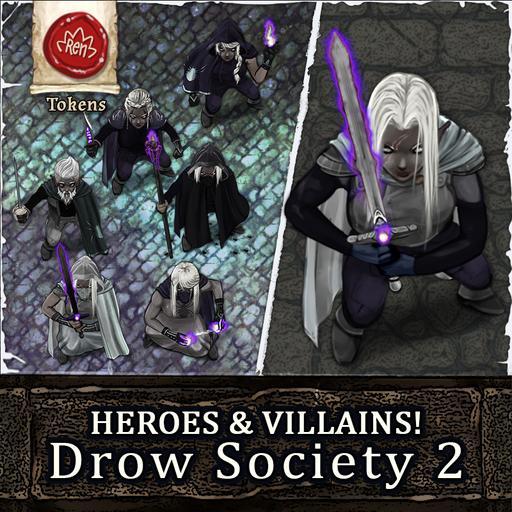 Heroes & Villains! Drow Society Vol. 2