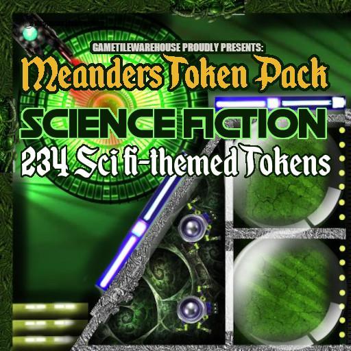 Meanders Token Pack SCI-FI
