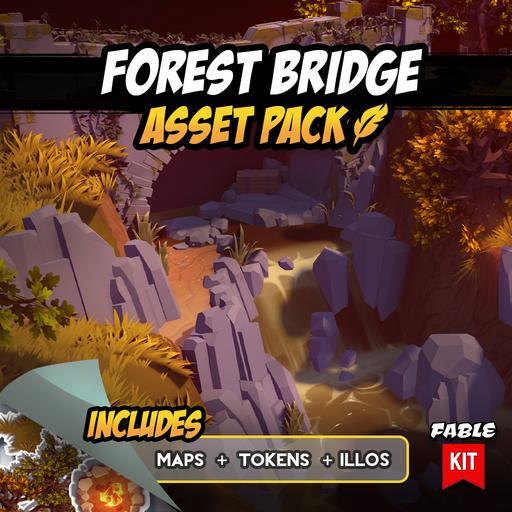 Forest Bridge - Asset Pack
