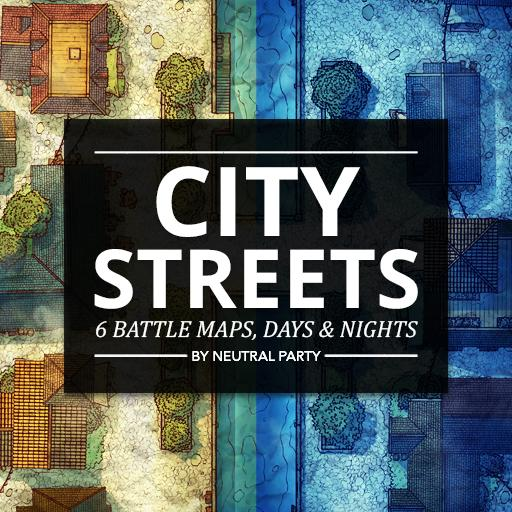 City Streets Map Pack 2