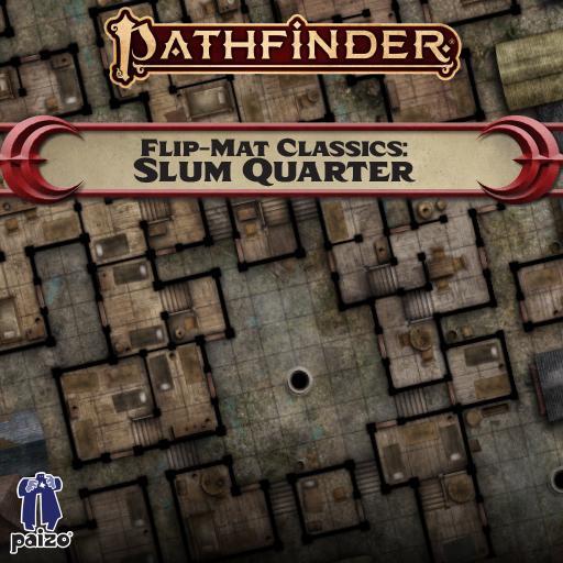 Pathfinder Flip-Mat Classics: Slum Quarter