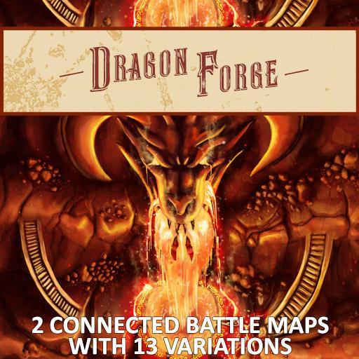 Dragon Forge Battle Map
