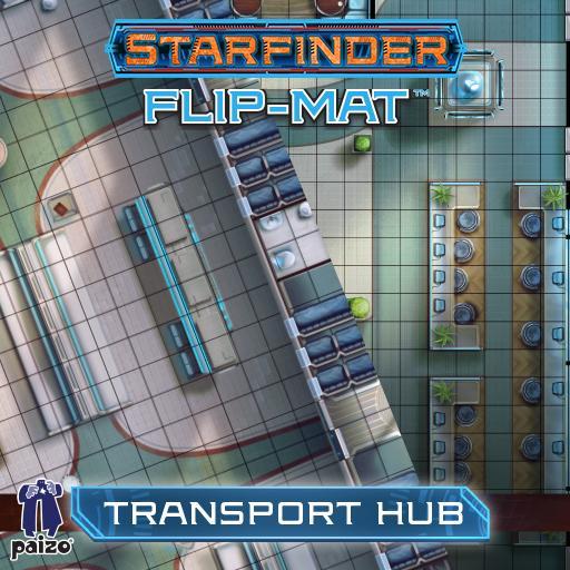 Starfinder Flip-Mat: Transportation Hub