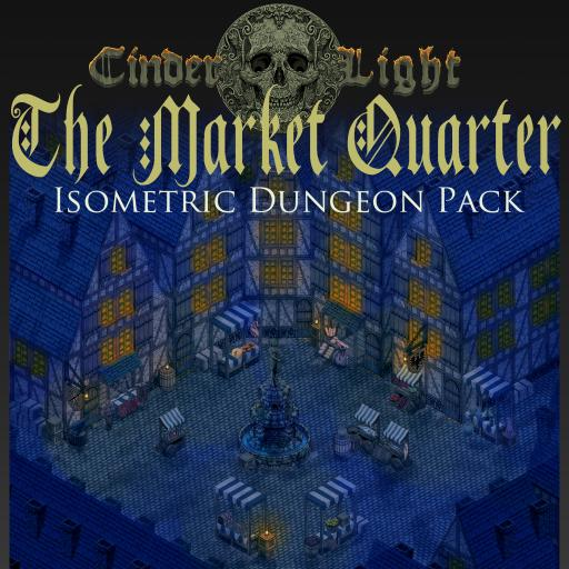 The Market Quarter: An Isometric Dungeon Pack