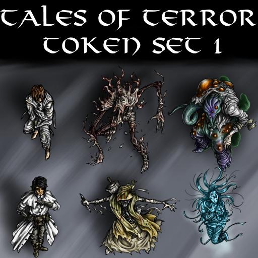 Tales of Terror Token Set 1