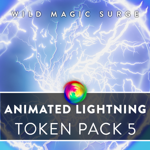 Animated Lightning Tokens