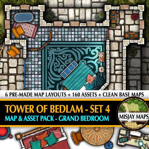 Tower of Bedlam SET 4