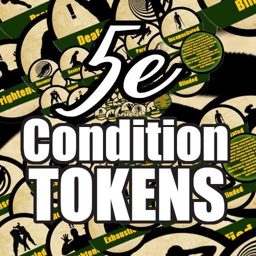 5e Condition Tokens