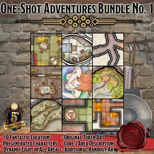 One-Shot Adventures Bundle No.1