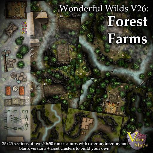 Wonderful Wilds V26: Forest Farms