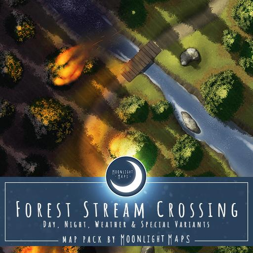 Forest Stream Crossing