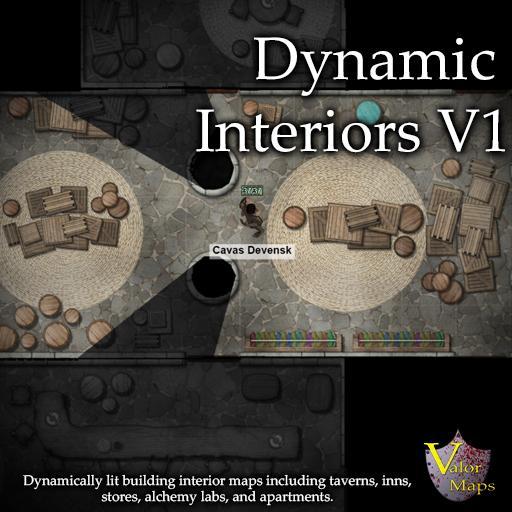 Dynamic Interiors V1