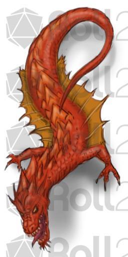 Lindworm Dragon: Roll20 Marketplace: Digital Goods For