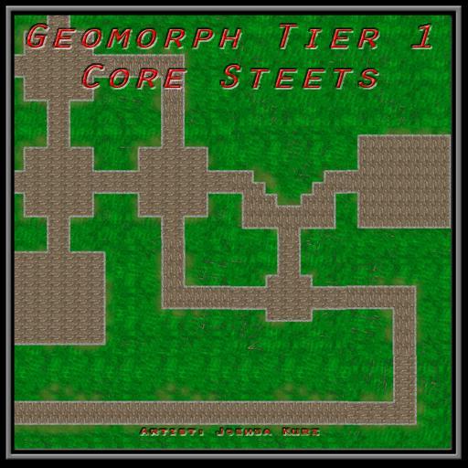 Geomorph Tier 1 Core Streets