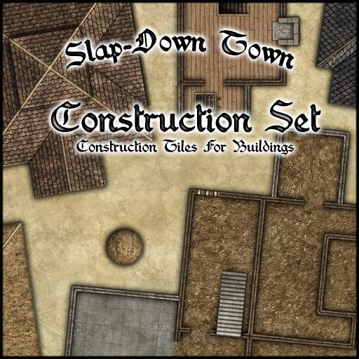 Slap-Down Town Construction Set