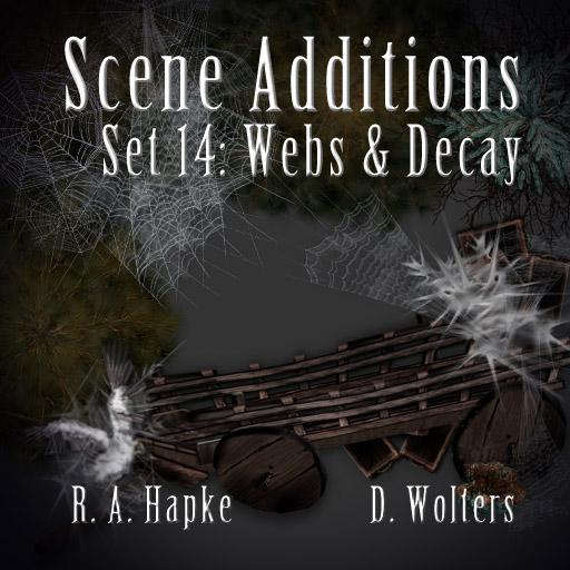 Scene Additions set 14: Webs & Decay