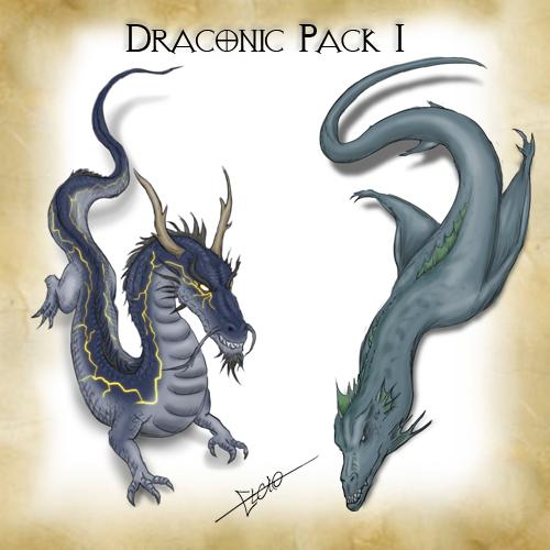 Draconic Pack 1