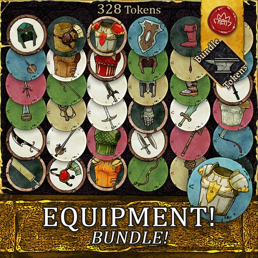 Equipment! - Tokens - Bundle!