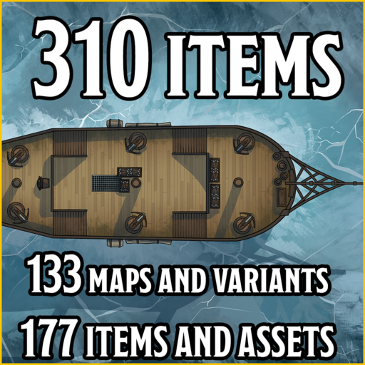 Sea HUGE Pack - Maps and Assets