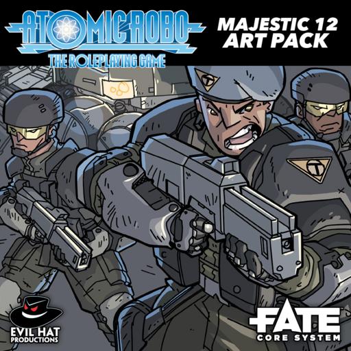 Atomic Robo Majestic 12 Art Pack