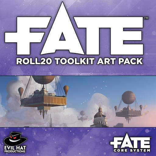 Fate Roll20 Toolkit Art Pack