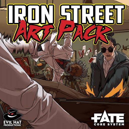 Iron Street Combat Art Pack