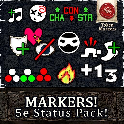 MARKERS! Status - 5e Edition