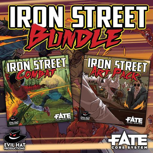 Iron Street Combat: World and Art Bundle